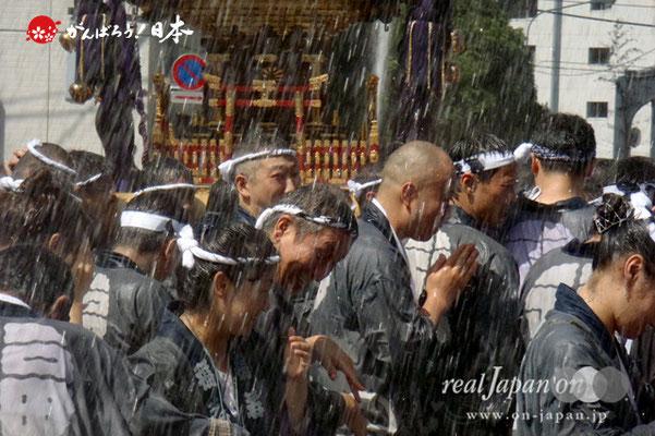 〈富岡八幡宮例大祭〉神輿連合渡御 三十三番: 福住 @2012.08.12