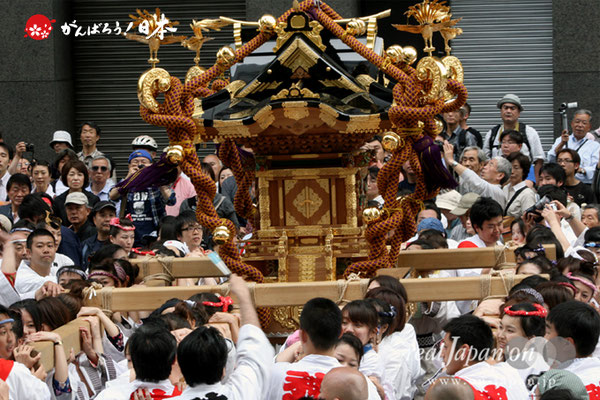 〈神田祭〉将門神輿渡御 @2010.05.09