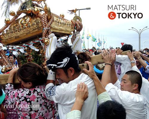 平成29年度「羽田まつり」大東 町会 2017年7月30日 HND17_012