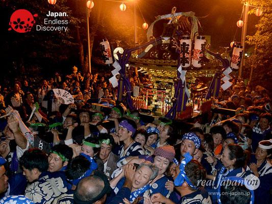〈八重垣神社祇園祭〉神社神輿還御:東本町区 @2018.08.05 YEGK18_045