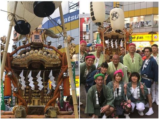 〈GP-17011〉 坂本真実さん:池袋ふくろ祭り・2017年9月24日