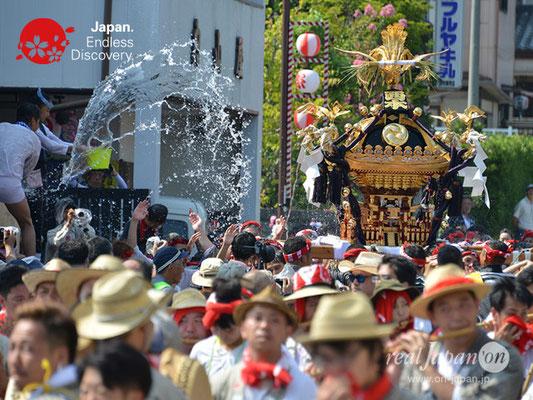 〈八重垣神社祇園祭〉神輿連合渡御:西本町区 @2018.08.05 YEGK18_028