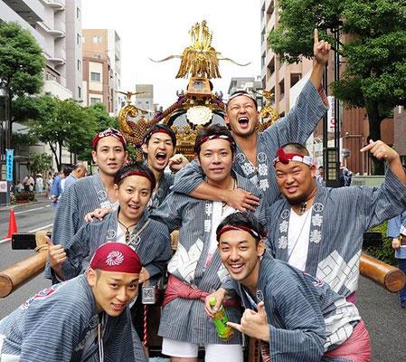 〈GP-17016〉 大竹敬一さん:2017年 牛嶋神社大祭・2017年9月17日