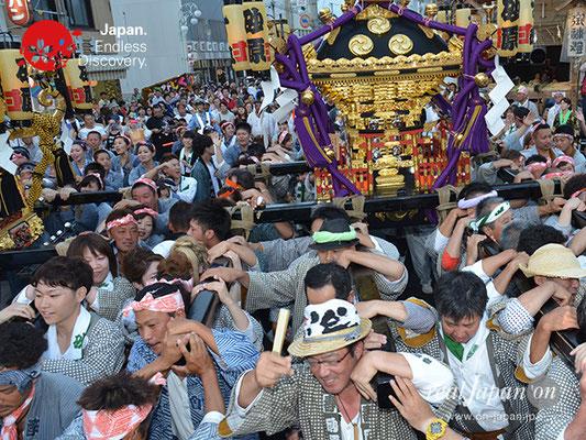 〈八重垣神社祇園祭〉神社神輿・砂原町区 @2017.08.05 YEGK17_048