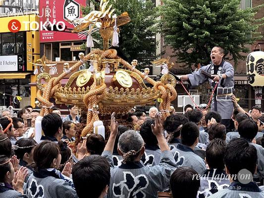 〈神田祭 2017.5.14〉神田中央連合・小川町北部四ヶ町  ©real Japan'on -knd17-006