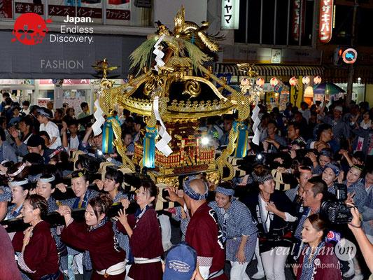 〈八重垣神社祇園祭〉女神輿連合渡御:上出羽区 @2018.08.04 YEGK18_007
