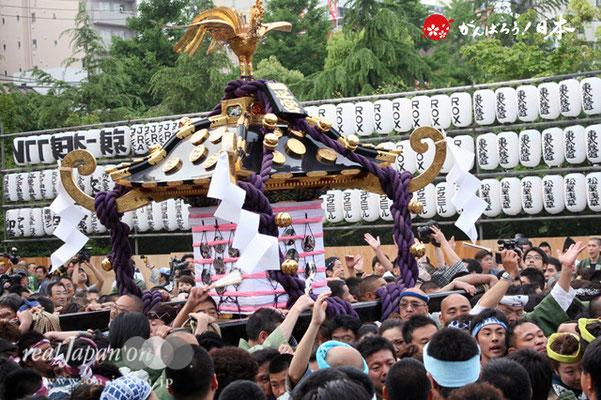 〈三社祭〉一之宮神輿・東部氏子宮出し渡御 @2012.05.20