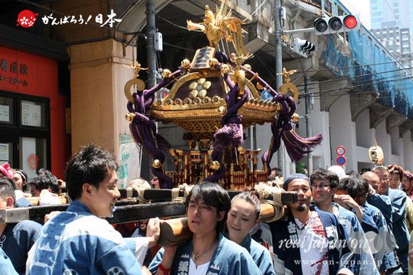 湯島天満宮例大祭〈天二町会〉@2012.05.27