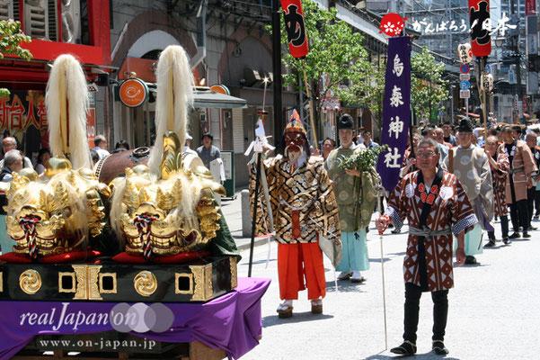 〈烏森神社例大祭〉先導行列 @2012.05.05