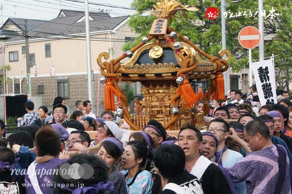 浦安三社祭〈みなみ會〉@2012.06.17