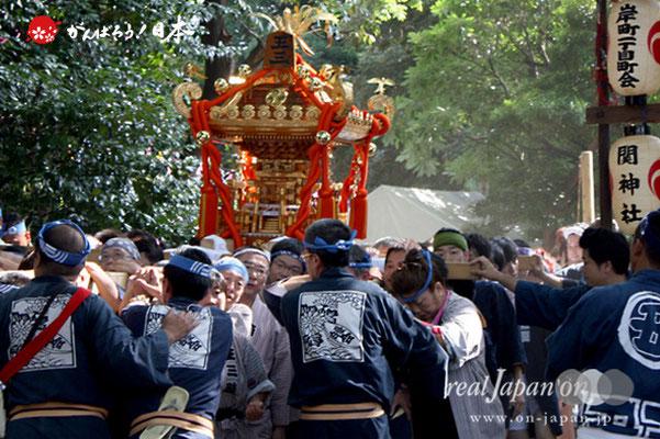 〈王子神社例大祭〉王子三丁目町会 @2012.08.05
