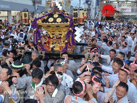〈八重垣神社祇園祭〉神社神輿・砂原町区 @2017.08.05 YEGK17_050