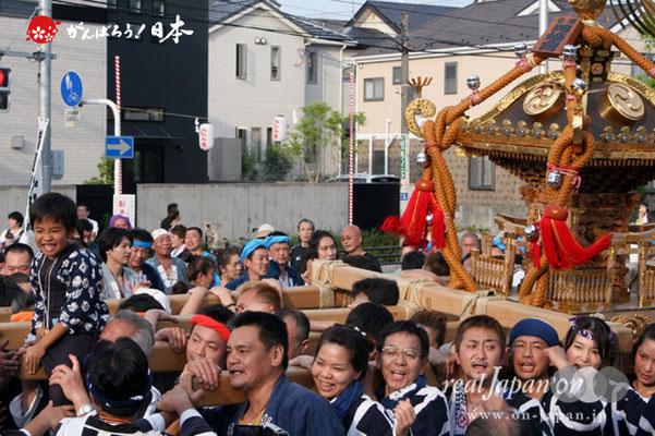 浦安三社祭〈岡崎會〉@2012.06.17