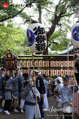 〈王子神社例大祭〉上十条一丁目東町会 @2012.08.05