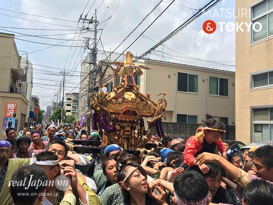 東大島神社御祭礼 2017年8月6日 hojm17_017