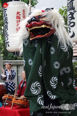 〈王子神社例大祭〉王子 狐囃子連 @2012.08.05