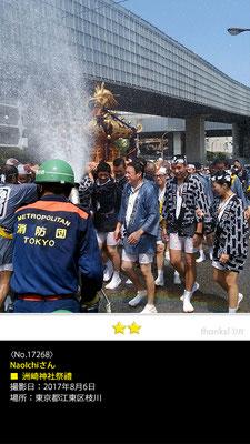 NaoIchiさん:洲崎神社祭禮, 2017年8月6日, 東京都江東区枝川