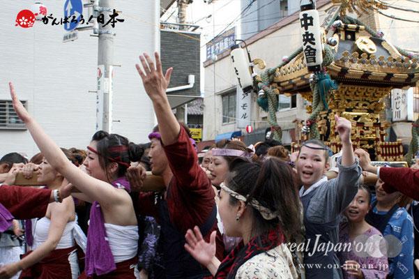 浦安三社祭〈中央會〉@2012.06.17