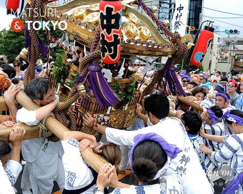 平成29年度「羽田まつり」中村祭友會 2017年7月30日 HND17_014