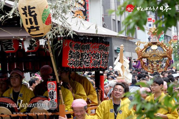 〈三社祭〉花川戸一丁目町会・神輿渡御 @2012.05.20