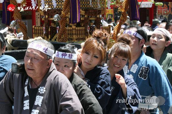 〈烏森神社例大祭〉女神輿渡御 @2012.05.05