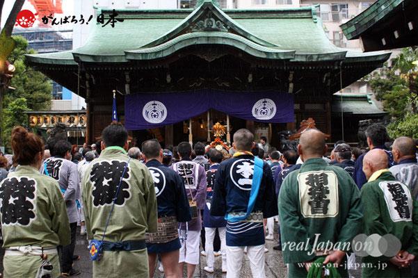 〈鉄砲州祭〉2012.05.04