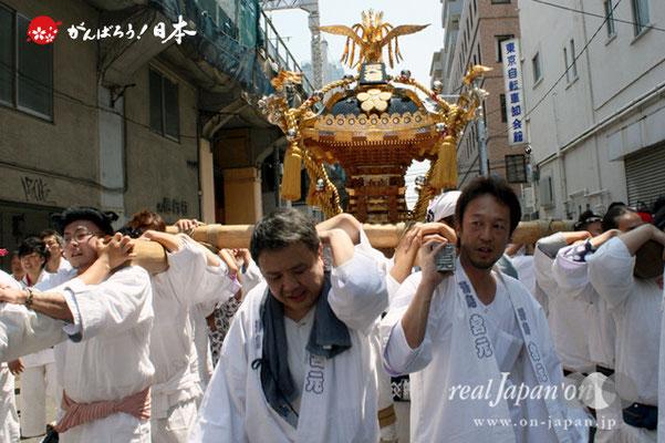 湯島天満宮例大祭〈宮元・天梅会〉@2012.05.27