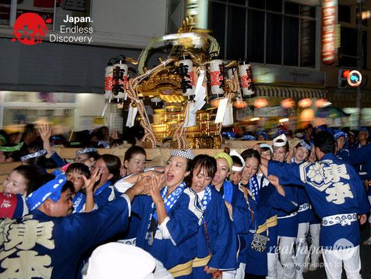 〈八重垣神社祇園祭〉女神輿連合渡御:東本町区 @2018.08.04 YEGK18_003