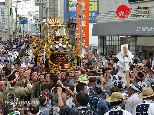 〈八重垣神社祇園祭〉砂原町区 @2017.08.05 YEGK17_044