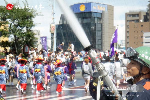 〈富岡八幡宮例大祭〉京橋消防団 @2012.08.12