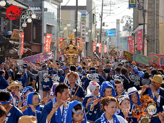 〈八重垣神社祇園祭〉神輿連合渡御:東本町区 @2018.08.05 YEGK18_030
