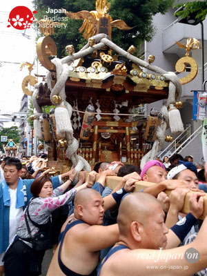 2017年 横浜開港祭 みこしコラボレーション「東睦」YH17_014