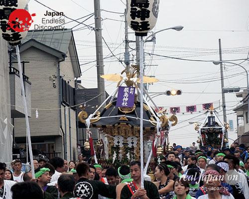 2017年度「浜降祭」新町 厳島神社/中海岸 中海岸神社 2017年7月17日 HMO17_005