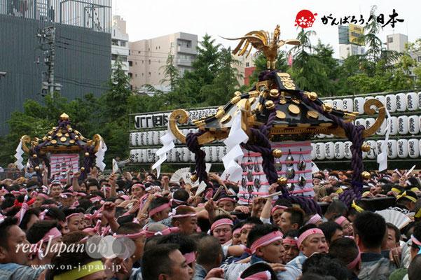 〈三社祭〉一之宮神輿/二之宮神輿・一般宮出し渡御 @2012.05.20