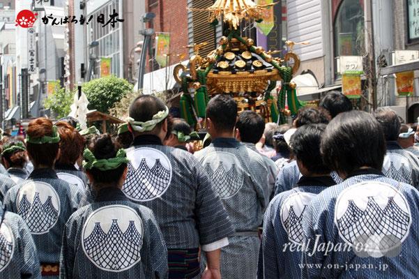 〈三社祭〉雷門田原町会・神輿渡御 @2012.05.20