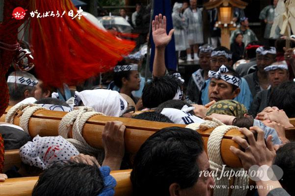 〈鉄砲洲祭〉入船三丁目(神輿台輪寸法: 2尺3寸)@2012.05.04