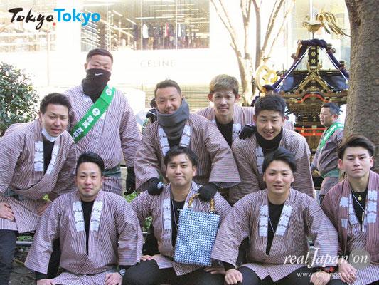 暁友會さん:祭はとにかく楽しいよね。8月開催の「水戸黄門まつり」では、昨年、ふるさと神輿渡御が初披露。日本最大級の連合神輿渡御はお薦めです。