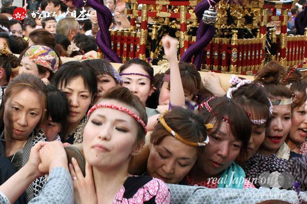 浦安三社祭〈清龍神社本社神輿1〉@2012.06.17