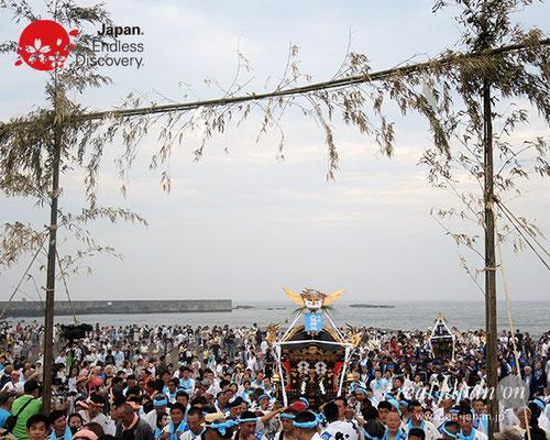 2017年度「浜降祭」本村 八坂神社 2017年7月17日 HMO17_029
