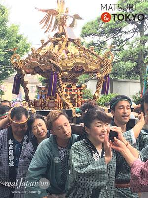 東大島神社御祭礼 2017年8月6日 hojm17_006