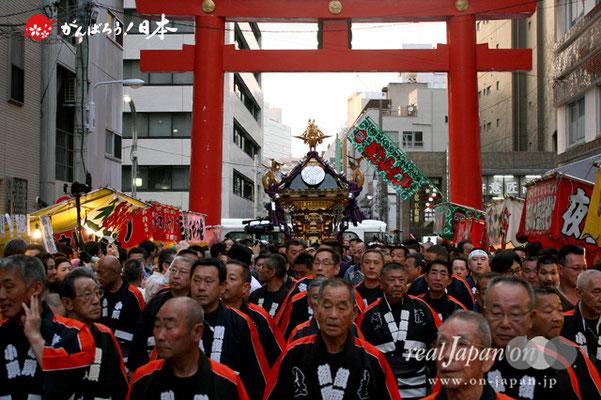 〈下谷祭〉本社神輿渡御(宮入道中)@2012.05.13