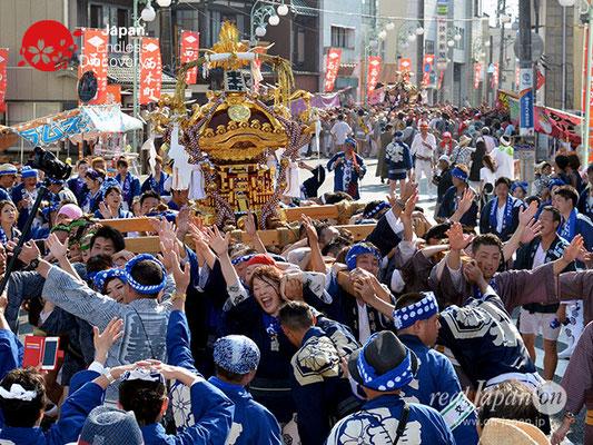 〈八重垣神社祇園祭〉神輿連合渡御:東本町区 @2018.08.05 YEGK18_031