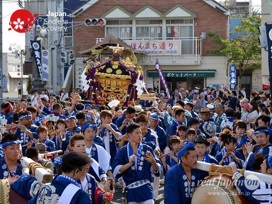 〈八重垣神社祇園祭〉神社神輿渡御・東本町区 @2018.08.04 YEGK18_002