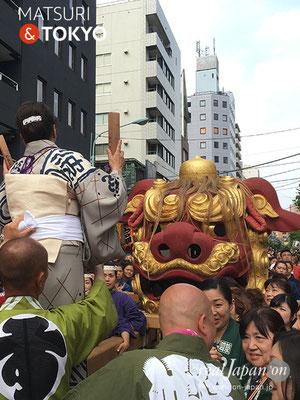 つきじ獅子祭 2017年6月11日【宮元町会】TKJSS17_015