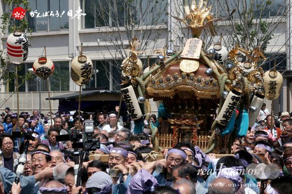 〈すみだ区民祝賀パレード〉十番. 押上文花町会