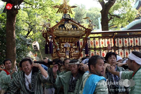 〈王子神社例大祭〉上十条三丁目町会 @2012.08.05