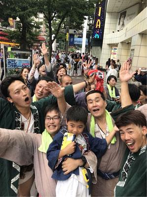 〈GP-18002〉 てっぽうさん:2018年 伊勢佐木 神輿コラボレーション・2018年6月24日