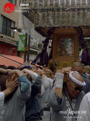 2017年 横浜開港祭 みこしコラボレーション「大久保神輿会」YH17_005