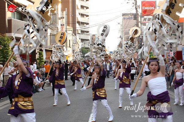 浦安三社祭〈入船会:纏行進〉@2012.06.17