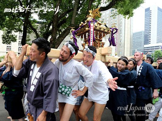 日比谷大江戸まつり【お神輿: 島尻自治会】2018.06.08 sat
